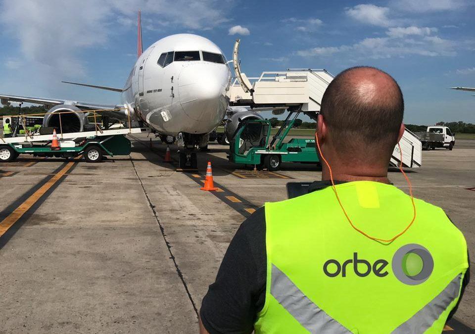 Orbe inicia processos de medição em Ezeiza, Buenos Aires
